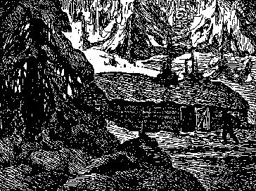 billede med tre gedebukke på trappe
